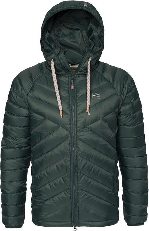 fc1a8404 Varg Ms Mollösund Down Jacket Fir Green L 2018 Vinterjakker og Parkas
