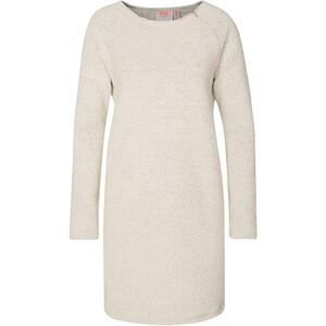 Varg Fårö Long Wool Dress Dam off white off white