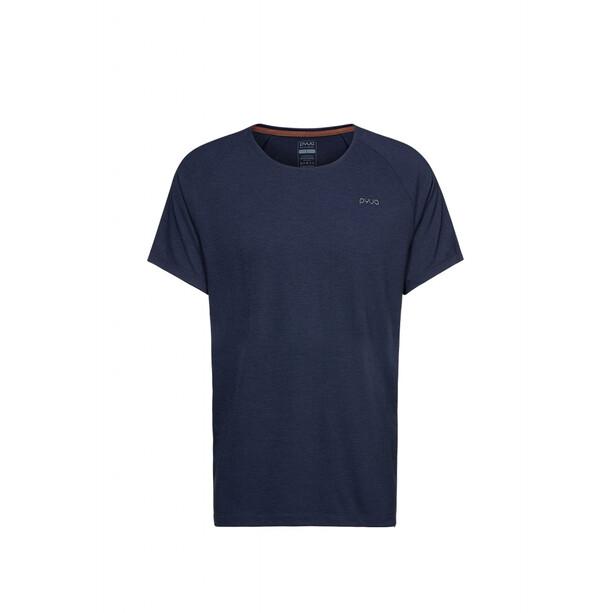 PYUA Brisk-Y S T-Shirt Herren navy melange