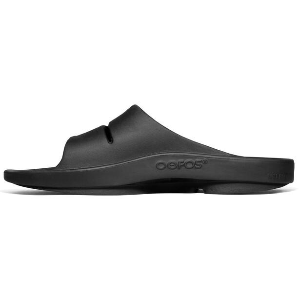 OOFOS Ooahh Sport Sandalen schwarz