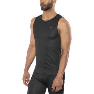 Odlo Active F-Dry Light Rundhals Unterhemd Herren black black