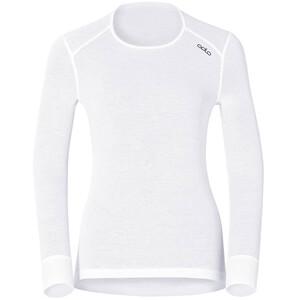 Odlo Active Originals Warm Langarm Rundhalsshirt Damen white white