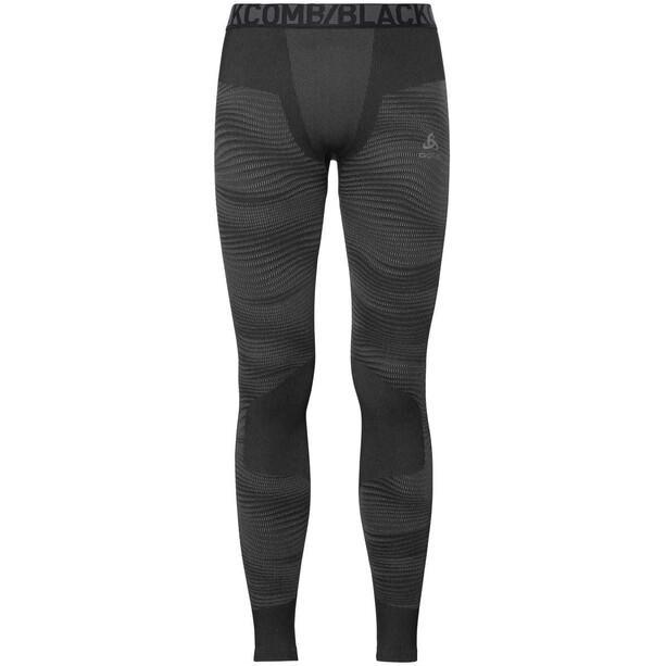 Odlo Suw Performance Blackcomb Unterhose Herren black-odlo concrete grey-silver