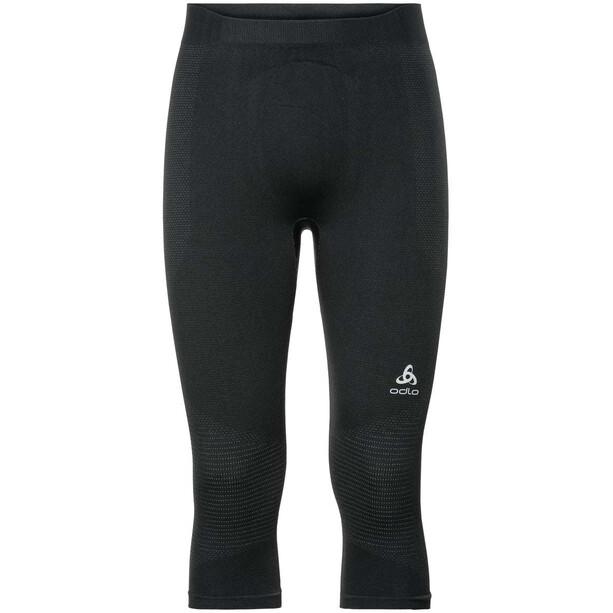 Odlo Suw Performance Warm 3/4 Unterhose Herren black-odlo concrete grey