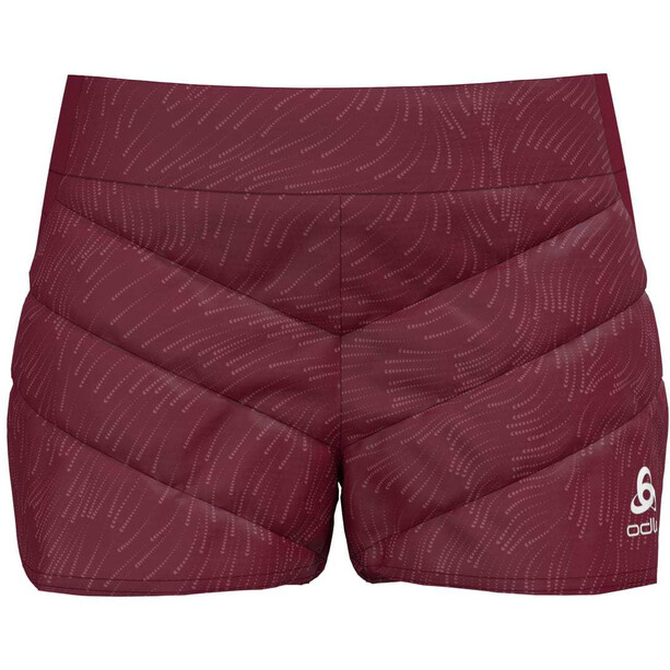 Odlo Irbis X-Warm Shorts Damen rumba red
