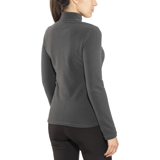 Odlo Roy 1/2 Zip Midlayer Damen shale grey-black stripes