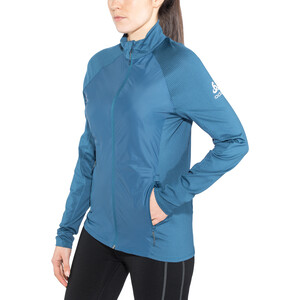 Odlo Velocity Element Light Jacke Damen poseidon-blue jewel poseidon-blue jewel
