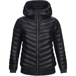 Peak Performance Ice Down Hooded Jacket Dam black black