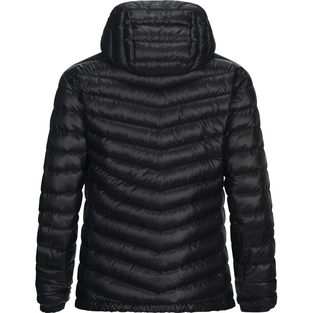Peak Performance Ice Down Hooded Jacket Herr black