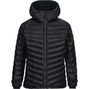 Peak Performance Ice Down Hooded Jacket Herr black black