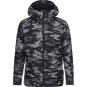 Peak Performance Helium Down Hooded Jacket Herr pattern pattern