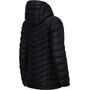 Peak Performance Frost Down Hooded Jacket Dam black