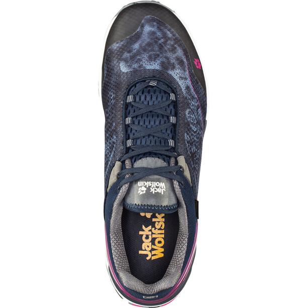 Jack Wolfskin Crosstrail Shield 2 Low-Cut Schuhe Damen schwarz/grau