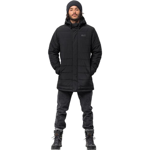 Jack Wolfskin Svalbard Mantel Herren black
