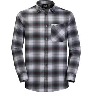 Jack Wolfskin Light Valley Shirt Herren schwarz/weiß schwarz/weiß