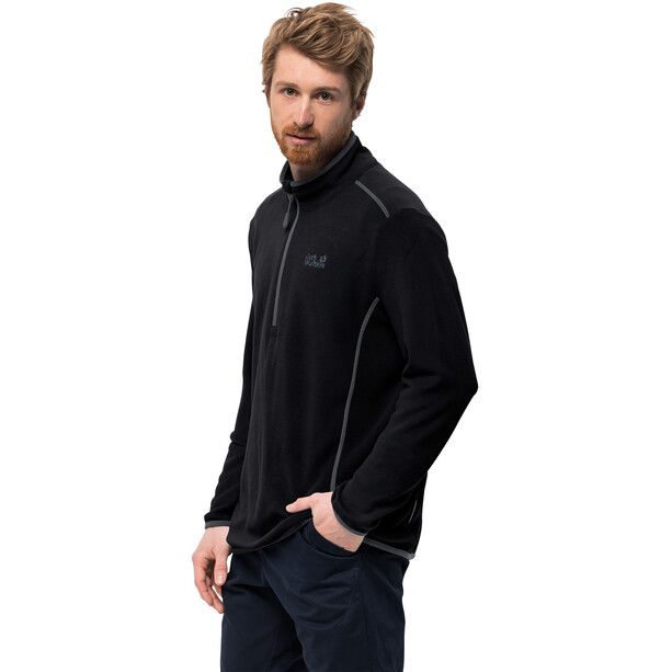 Jack Wolfskin Echo Fleece Pullover Herren black
