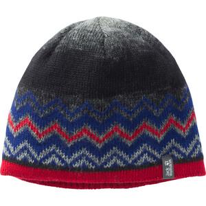 Jack Wolfskin Colorfloat Knit Cap Kinder grau/blau grau/blau