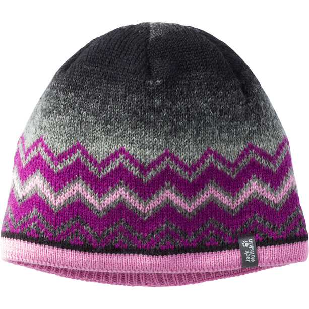 Jack Wolfskin Colorfloat Knit Cap Kinder dark peony