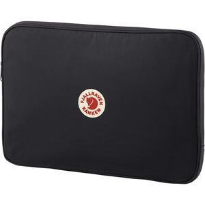 Fjällräven Kånken 15 Laptoptasche schwarz schwarz