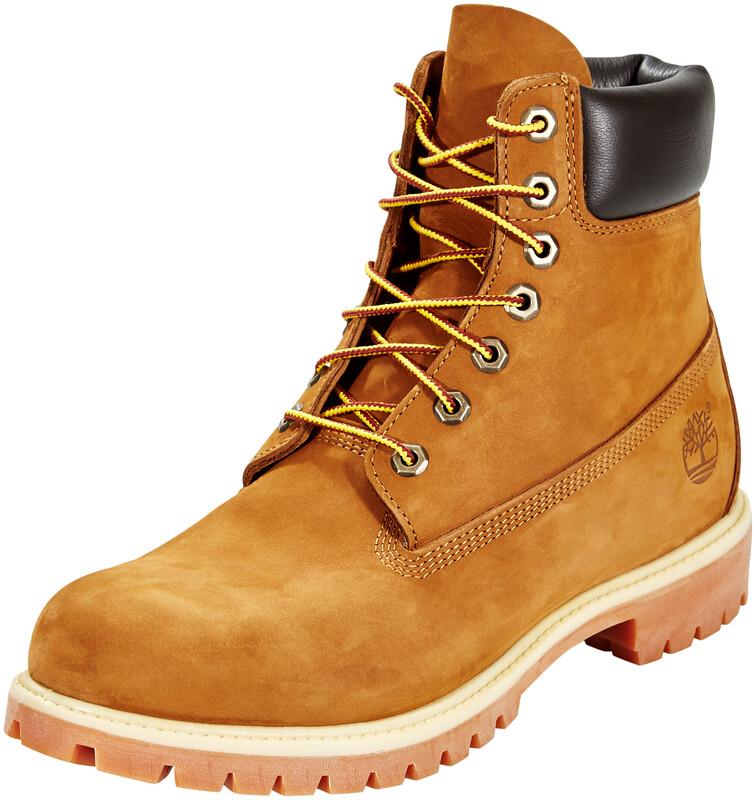 "Timberland Icon Collection Premium Boots Men 6"" Medium Orange Nubuck US 12   EU"
