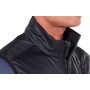 Icebreaker Helix Vest Herr black/jet heather