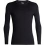 Icebreaker 200 Oasis LS Crewe Shirt Herr black