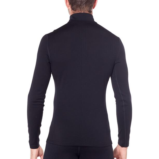 Icebreaker 260 Tech LS Half Zip Shirt Herr black