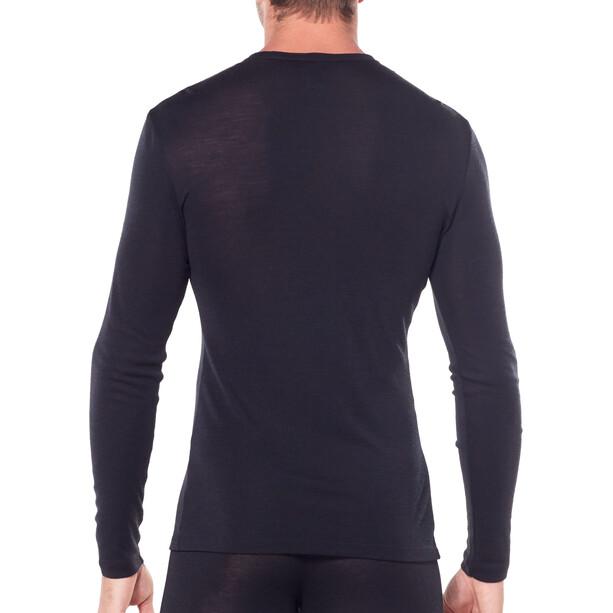 Icebreaker 175 Everyday LS Crewe Shirt Herr black