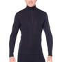Icebreaker 175 Everyday LS Half Zip Shirt Herr black