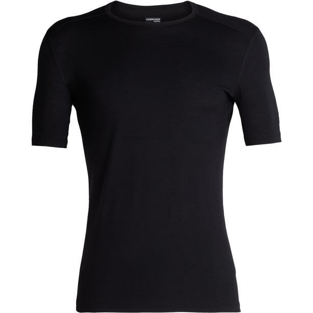 Icebreaker 200 Oasis SS Crewe Shirt Herr black