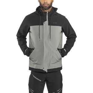 PEARL iZUMi Versa Barrier Jacket Herr black/smoked pearl black/smoked pearl