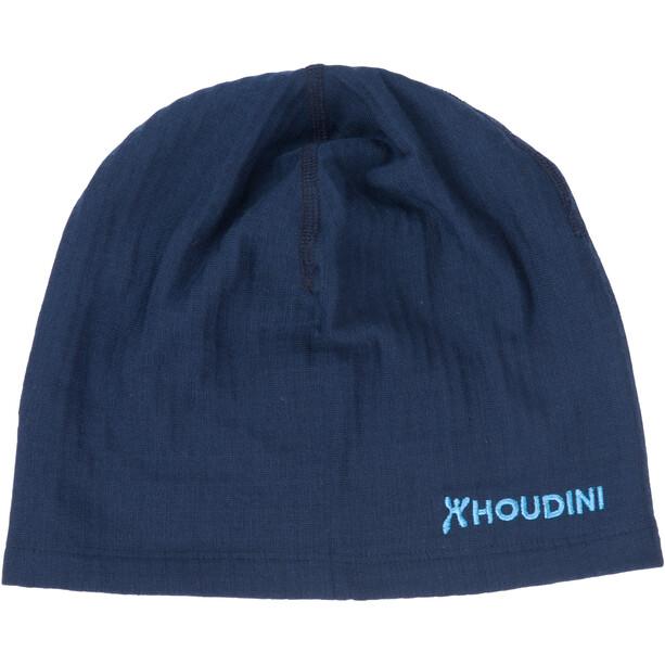 Houdini Wooler Top Mütze blue illusion