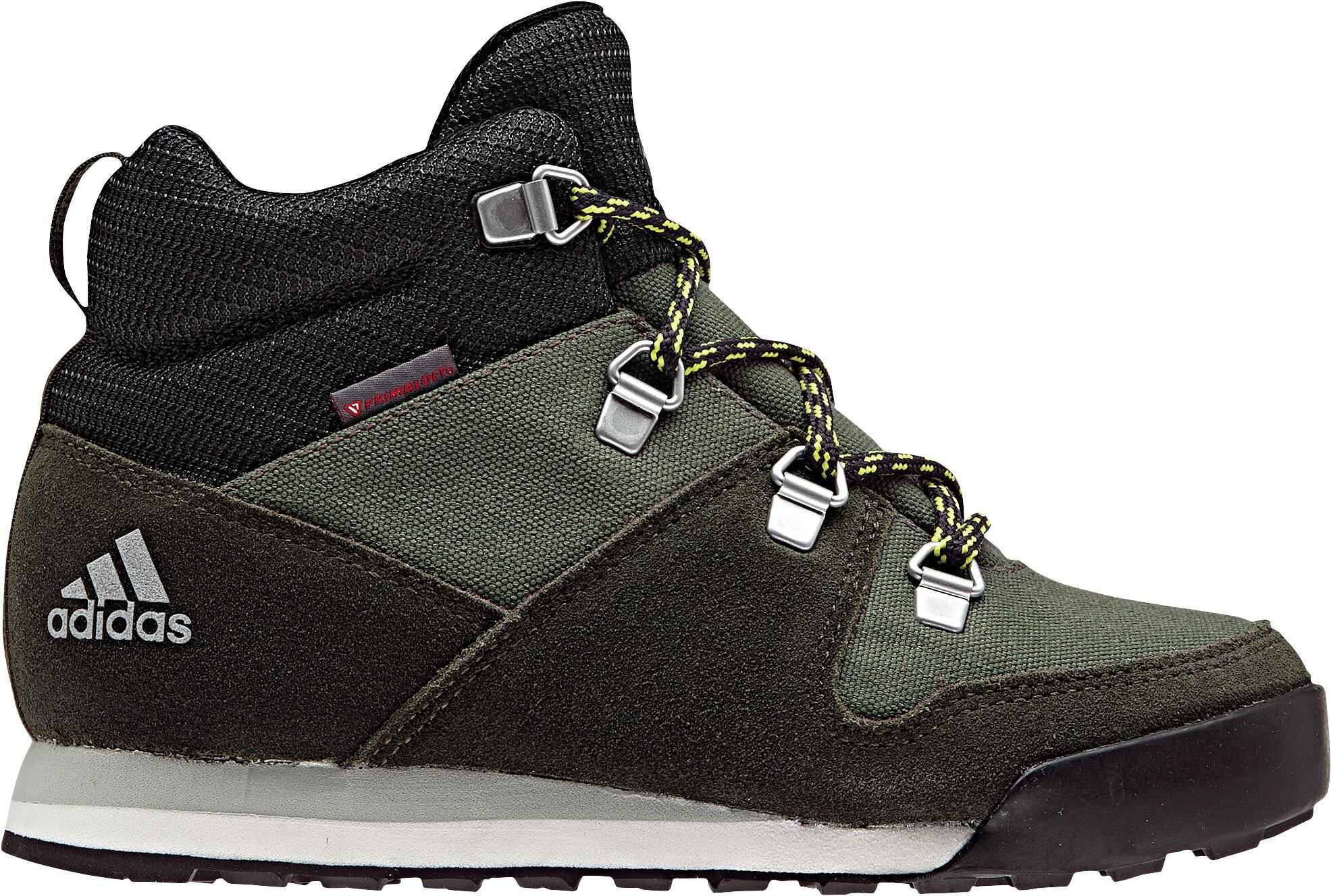 huge discount 49d32 1a7c6 adidas TERREX SnowPitch Winter Shoes Boys Base Green Night Cargo Ash Silver.jpg