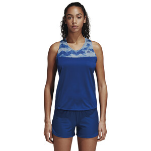 adidas Adizero Tank Top Damen mystery ink/raw grey mystery ink/raw grey