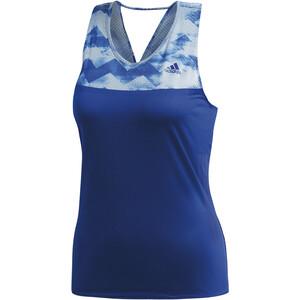 adidas Adizero Tanktop Damer, blå/hvid blå/hvid
