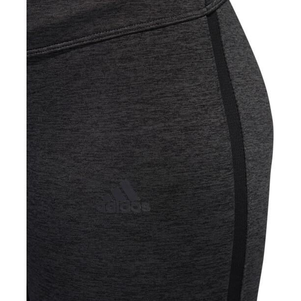 adidas Response Heather Lauf-Tights Damen black/carbon