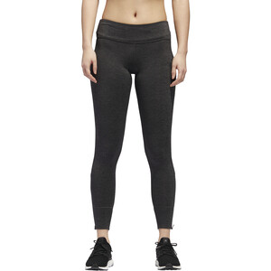adidas Response Heather Lauf-Tights Damen black/carbon black/carbon