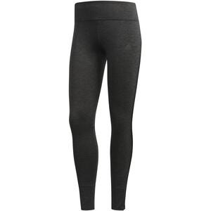 adidas Response Heather Lauf-Tights Damen black/carbon black/carbon
