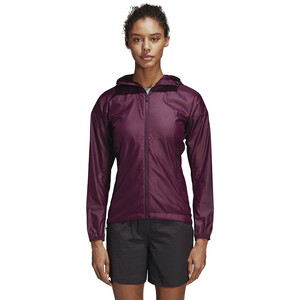 adidas TERREX Agravic Alpha Jacke Damen red night red night