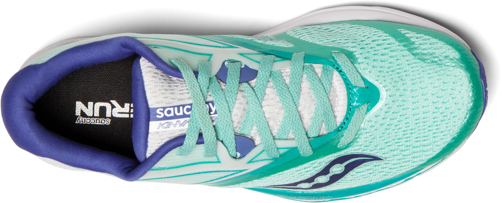 saucony Kinvara 9 Schuhe Damen aquawhite