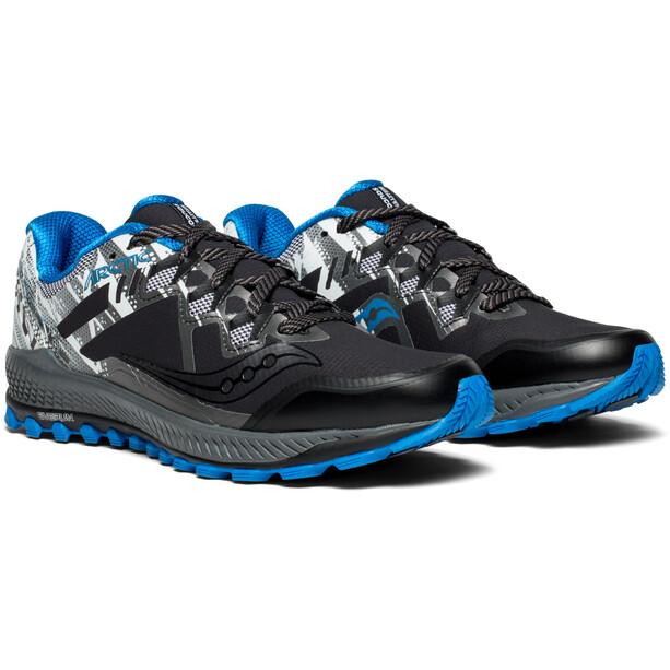 saucony Peregrine 8 Ice+ Schuhe Herren black/white