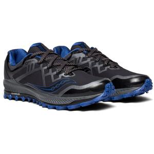 saucony Peregrine 8 GTX Schuhe Herren black/grey/blue black/grey/blue