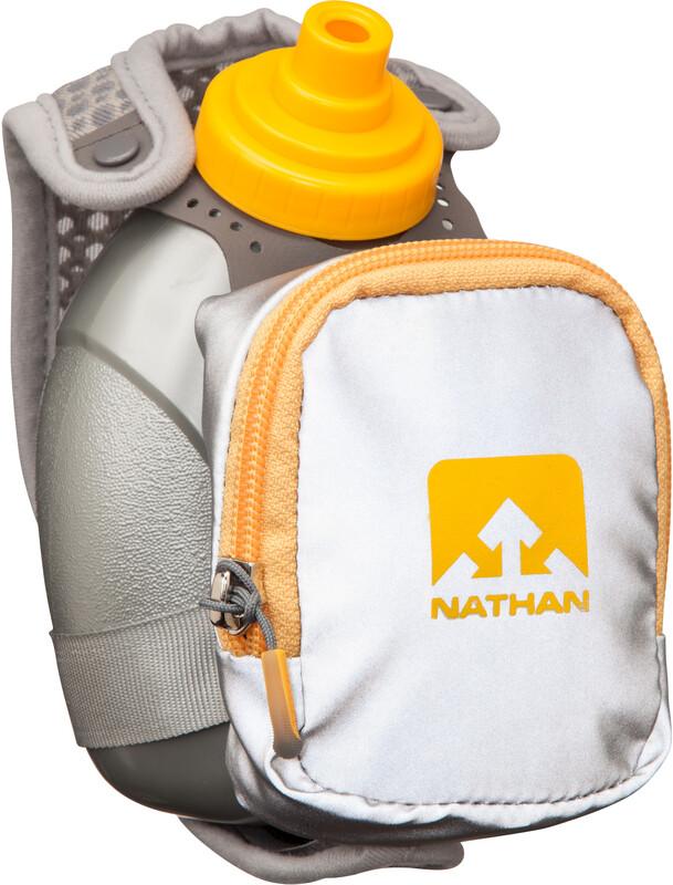 Nathan QuickShot Plus Drikkesystem 300ml Grå  2017 Drikkebelter & -vester