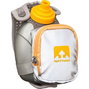 Nathan QuickShot Plus Handheld 300ml reflective silver/nathan orange reflective silver/nathan orange