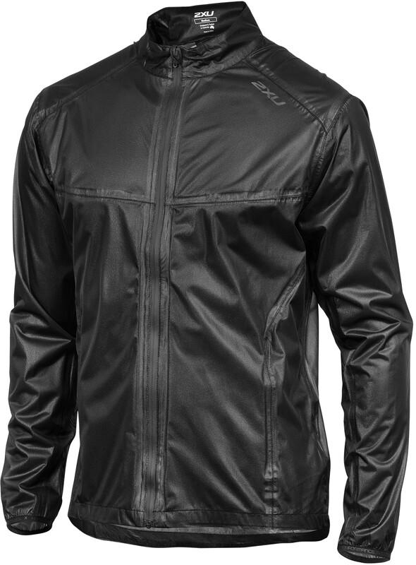 2XU M's Packable Membrane Jacket black/black M 2018 Løpejakker
