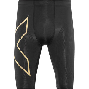 2XU MCS Run Compression Shorts Herren schwarz/gelb schwarz/gelb