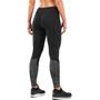 2XU Reflect Run Mid-Rise Tights Damen black/silver glo reflective