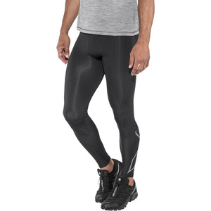 2XU Run Kompressions-Tights Herren black/ black reflective black/ black reflective