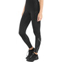 2XU Run Mid Rise Kompressions-Tights Damen black/ black reflective