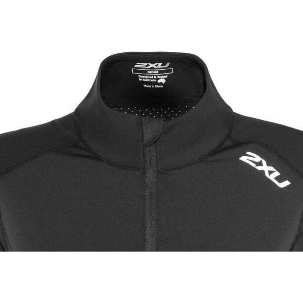 2XU XVENT 1/4 Zip Longsleeve Shirt Dame black/black